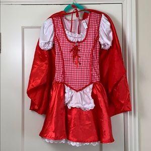 Girl's Little Red Riding Hood Halloween costume